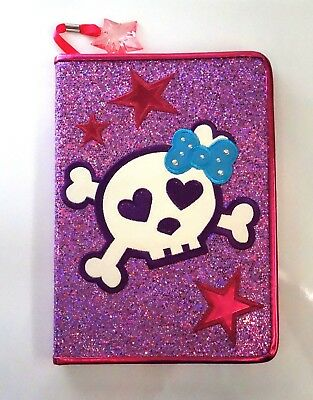 Purpurina Skull And Crossbones Journal Where You Guardar All Your Wildest Dreams