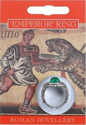 Roman Emperor Ring - Imperial Rome Caesar Soldier History Fancy Dress Play