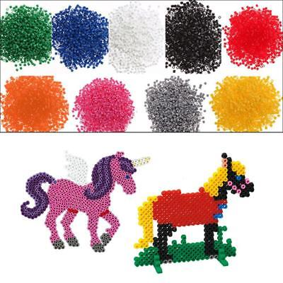 1000pcs 5mm EVA Hama/Perler Beads Toy Kids Fun Craft DIY Handmaking Fuse Bead BE