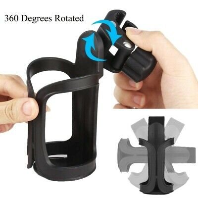 Rotation Drink Bottle Cage Cup Holder for Bicycle Baby Stroller Holder 360Degree