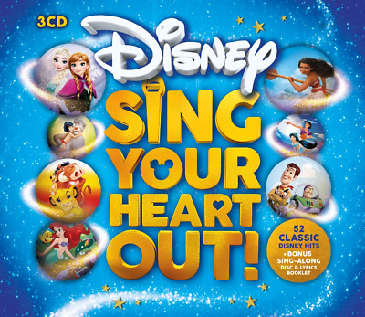 Various Artists - Sing Your Heart Out Disney Soundtrack, Box set (CD) Signalong