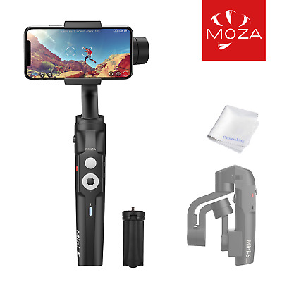 MOZA Mini-S Gimbal Foldable Extendable 3 Axis Smartphone Stabilizer