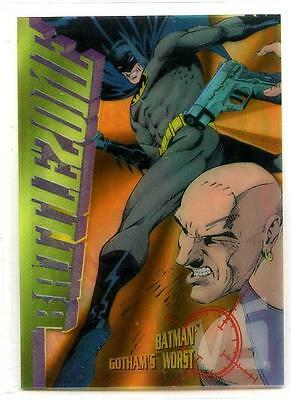 DC Legends '95 Power Chrome - Batman Battlezone Card B2 - SkyBox - 1995