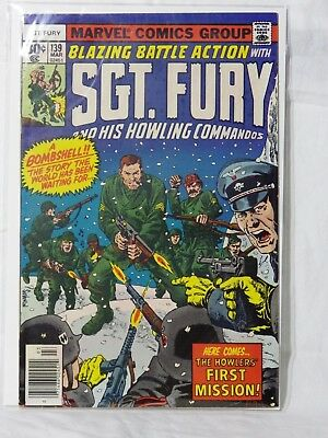 Marvel Sgt Fury & His Howling Commandos - 1st Series Issue No: 139