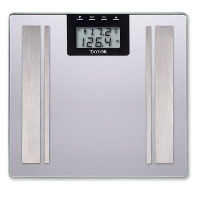 Taylor 57364102f Body Fat Digital Scale [silver]