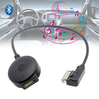 Wireless Bluetooth Music Adapter Cable USB Audio Cord for Audi Q5 A5 A7 A8L A4L