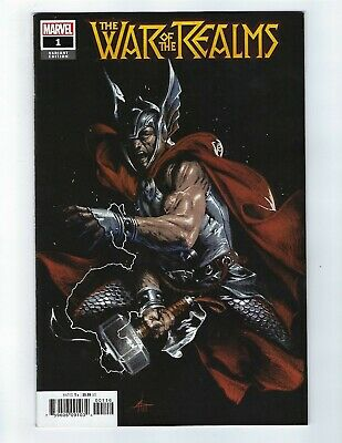 War Of The Realms # 1 Dell Otto 1:10 Variant NM Marvel