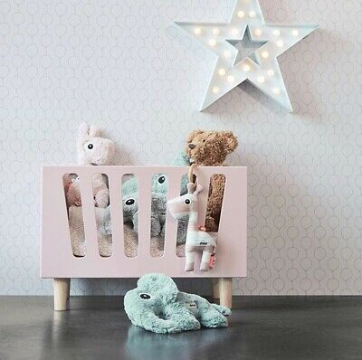 Doll's Bed/Doll's Cot/Wooden Baby Doll Bed With Mattress/Toy Crib/Pretend Play