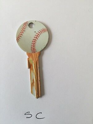 Baseball  Schlage SC 1 # 68 House Key Uncut, One key FREE SHIP USA