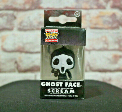 Funko Pop Ghost Face Keychain from Scream ( VAULTED - no more will be made )