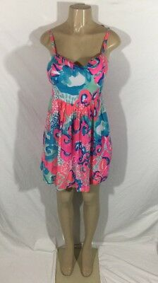 d25f6d761de6 NWT Retail $178 Lilly Pulitzer Size 4 Christine Coral Reef I'm So Jelly  Dress