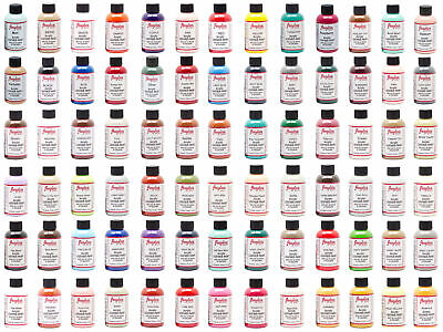 Angelus Sneaker Leather Acrylic Paint Dye Shoe Boots Bags All Colors  1oz & 4oz