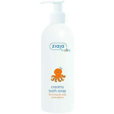 Ziaja Baby Creamy Soap For 3 Months And Above 300Ml OFFICIAL UK