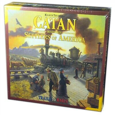Mayfair Games 3203, Catan Histories, Settlers of America, new and sealed