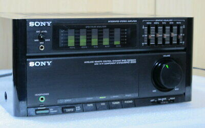 Sony MHC-2000 Integradet Stereo Amplifier mit Equalizer+ Phono!   .SN:502602
