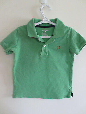 Baby Gap Collared Polo Shirt Boys Spring Green Easter Short Sl Size 2T GUC