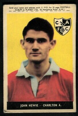 A/&BC-FOOTBALL WITHOUT PLANET 1958-#17- LEICESTER 01-46 WILLIAM CUNNINGHAM