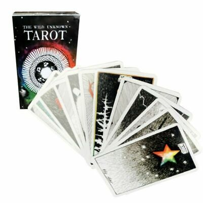 78 Cards Mystic Deck Playing Tarot Cards Magical Animal Board Game Family Xmas B