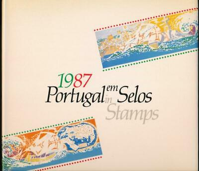 Portugal Em Selos (In Stamps) 1987 Year Book