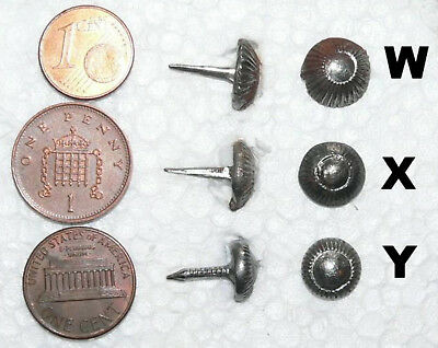 """GB - 1 (One) Set of 20 vintage """"ancient"""" NAILS for military boots - ACW WWI WWII"""