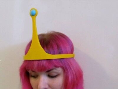 Princess Bubblegum Crown Adventure Time  Cosplay stampato 3D