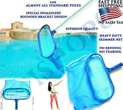 SWIMMING POOL CLEANING Supplies Skimmer Net Best Leaf Catcher ...