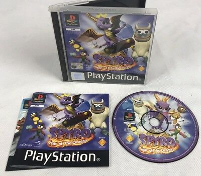 Sony Playstation 1 Game * SPYRO 3 YEAR OF THE DRAGON * Complete PS1 Retro