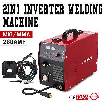 MIG MAG MMA Inverter Weldeing Machine 280 Amp DC Portable Stable FREE SHIPPING