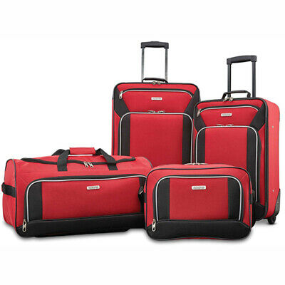 American Tourister Fieldbrook XLT 4 Piece Set - Red - (92288-1733)