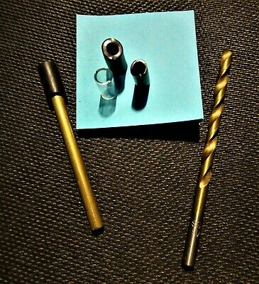 Proto Pipe Parts Custom Made Brass Mouthpiece Stem ONLY Custom Rebuild W/ DRILL