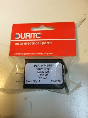 Relay Timer /'/'Delay On/'/' 10 seconds 12 volt Bg1-0-740-08 Durite