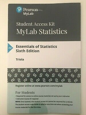 essentials of statistics 6th edition triola pdf