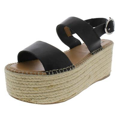 acc42df7cd Steve Madden Womens Cali Leather High Casual Platform Sandals Shoes BHFO  4576