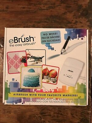Craftwell EBrush - The Easy Airbrush - Airbrush with Your Markers!