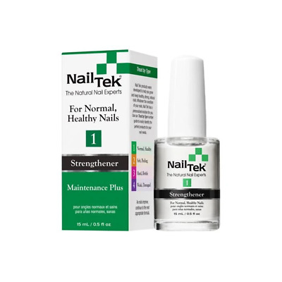 Nail Tek Maintenance Plus 1 - Strengthener for Normal, Healthy Nails (15ml)