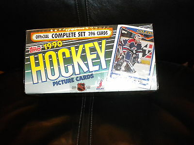 Nhl Topps Hockey 1990 Compete Set 396 Cards New Unopened
