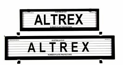 Altrex Number Plate Cover European Style & Slimline 6 Figure With Lines
