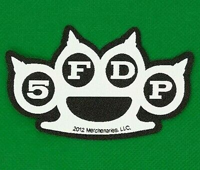 Five Finger Death Punch  - Knuckles Patch - metal band merch