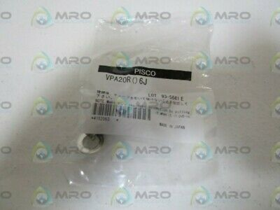 Pisco Fitting Connector Vpa20R () 6J *New In Factory Bag*