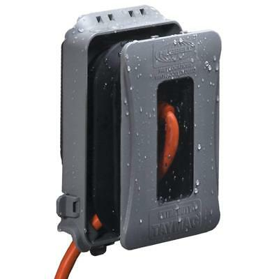 Hubbell Taymac Weatherproof In-Use Electric Box Cover – ML500G