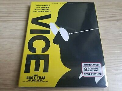 Vice (2018) (Blu-ray/DVD, Digital copy) Dick Cheney Christian Bale w/ Slipcover