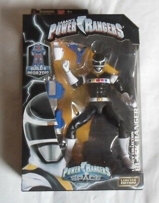 Power Rangers Mighty Morphin Legacy 6.5 Inch Black Ranger Action Figure