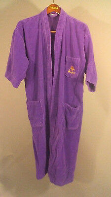 Official Crown Royal Purple Terry Bath Robe One Size Very Hard to Find!