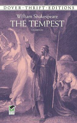 The Tempest (Dover Thrift Editions) By William Shakespeare