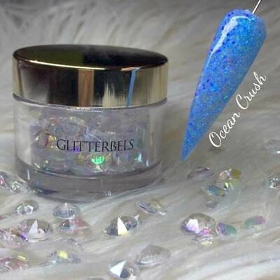 Glitterbels Acrylic Powder Ocean Crush 28g