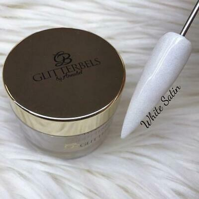 Glitterbels Acrylic Powder White Satin 28g