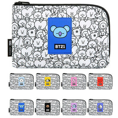 BTS BT21 Official Authentic Goods Monopoly Cable Pouch 8Characters