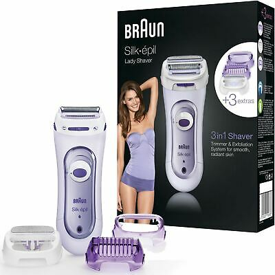 Braun LS 5560 Silk epil Lady Cordless Electric Exfoliation Shaver