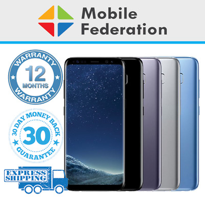Samsung Galaxy S8 G950F S8+ Plus G955F 64GB Unlocked [Au Stock]