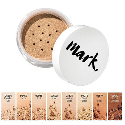 Avon mark. Loose Powder Foundation // Mineral Calming Effects SPF15 Buildable